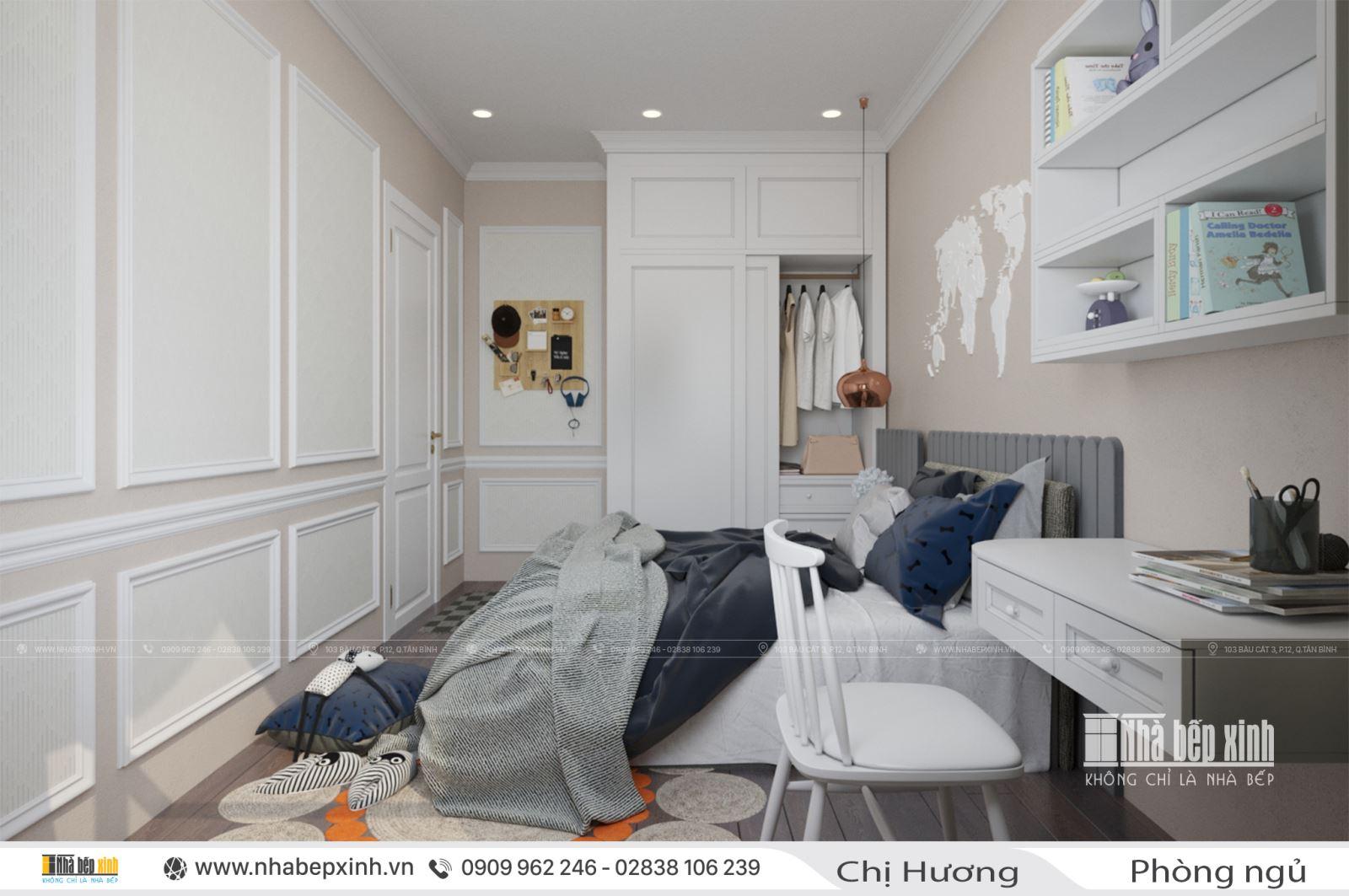 Phòng ngủ hiện đại nhà Chị Hương