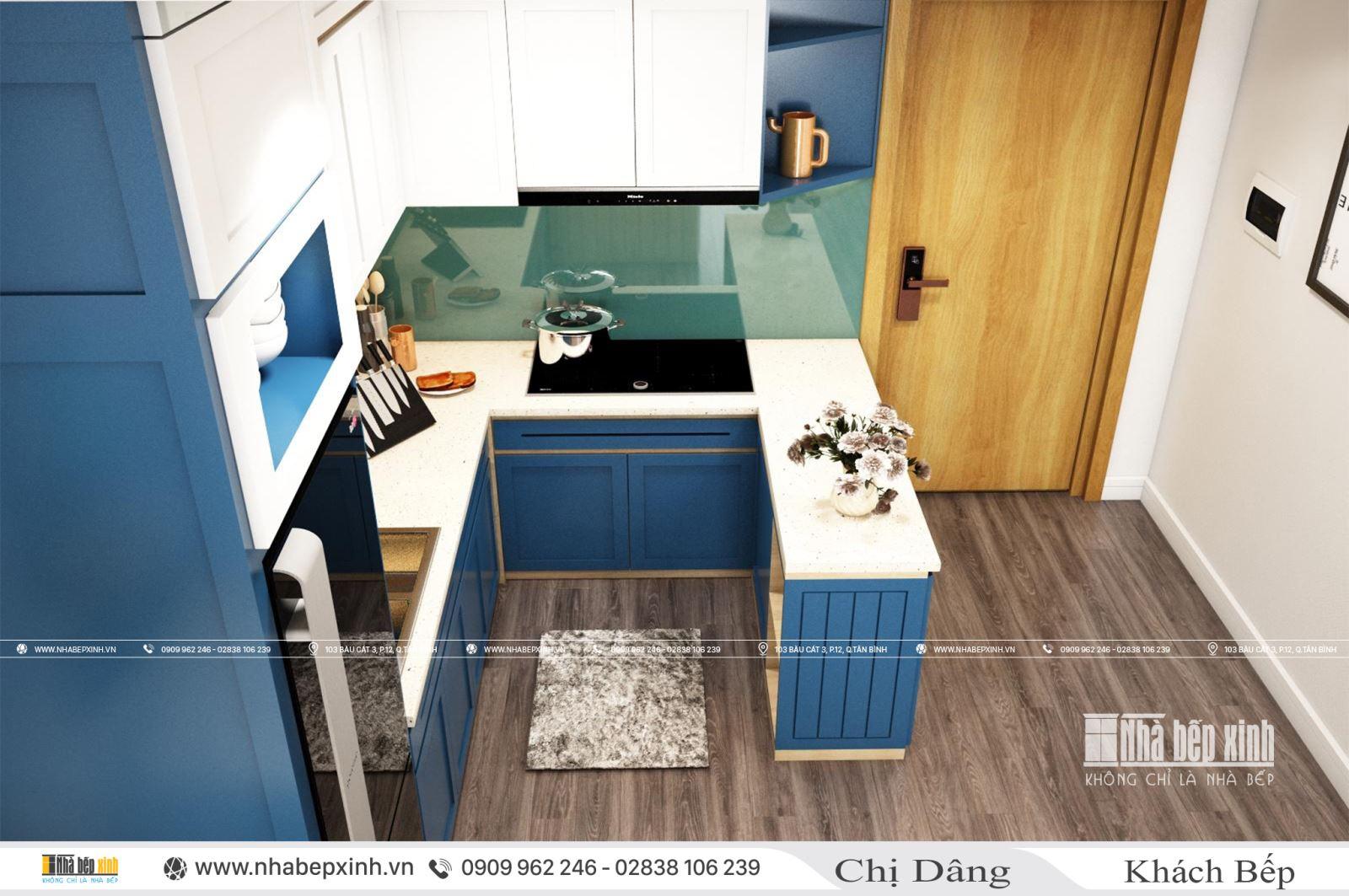 Thiết kế và thi công nội thất trọn gói tại căn 71m2 chung cư Emerald Celadon City