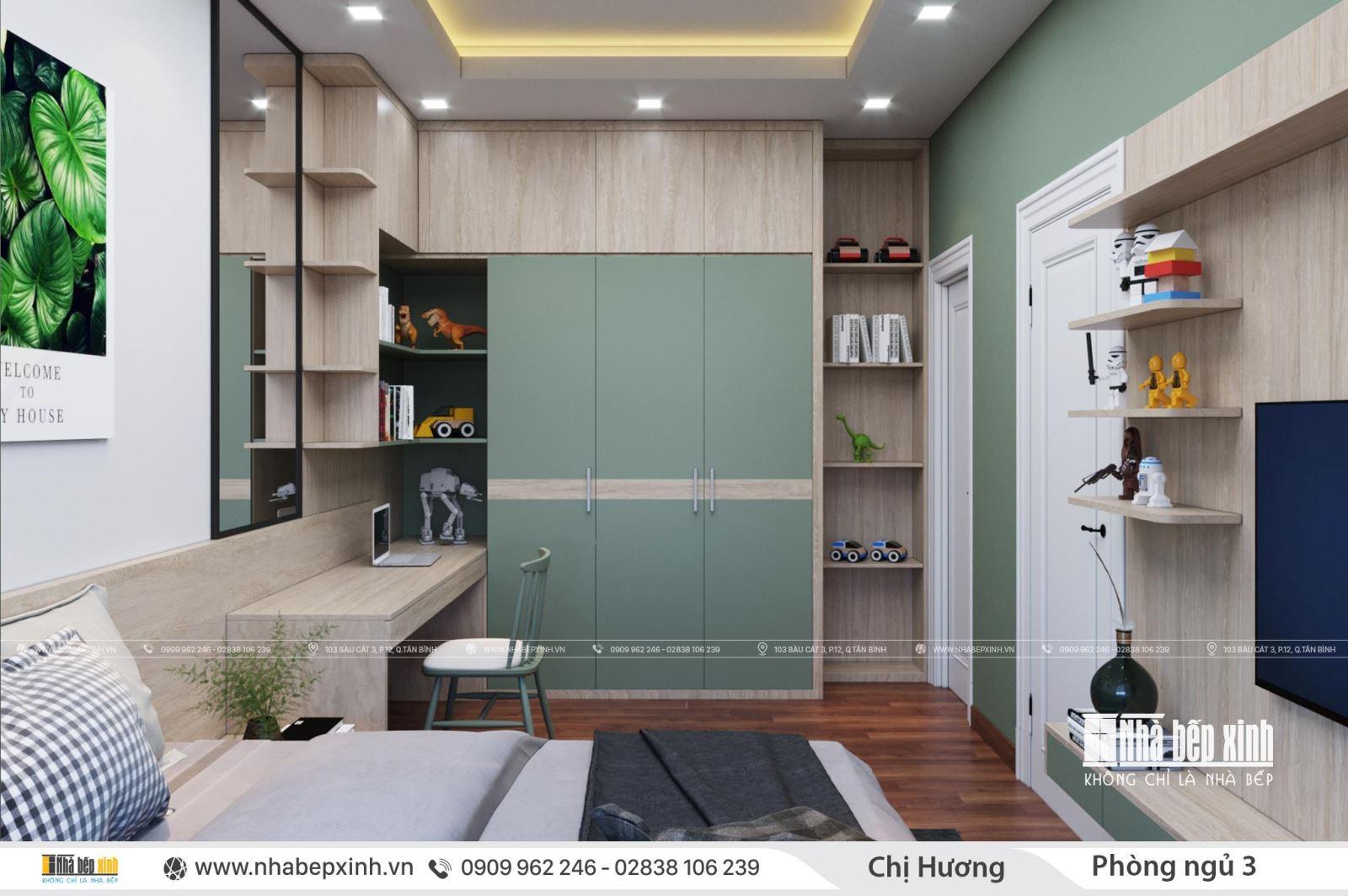 Mẫu thiết kế nội thất tân cổ điển - Nội thất nguyên căn
