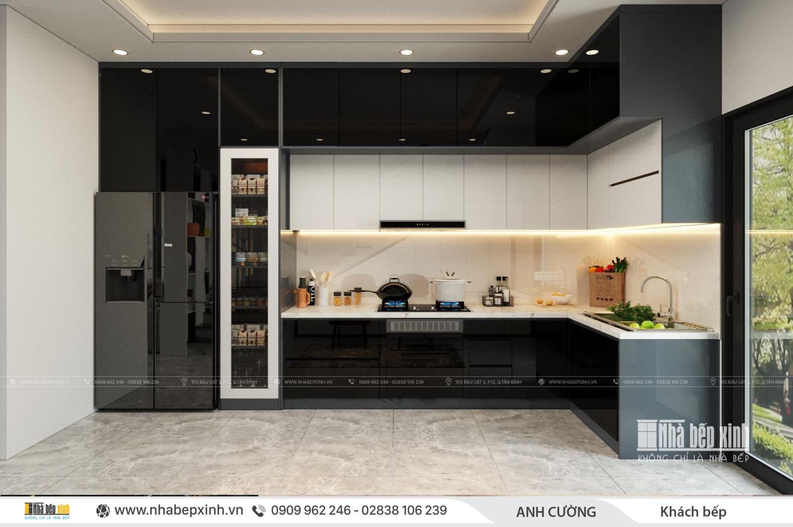 Thiết kế nội thất trọn gói phong cách hiện đại