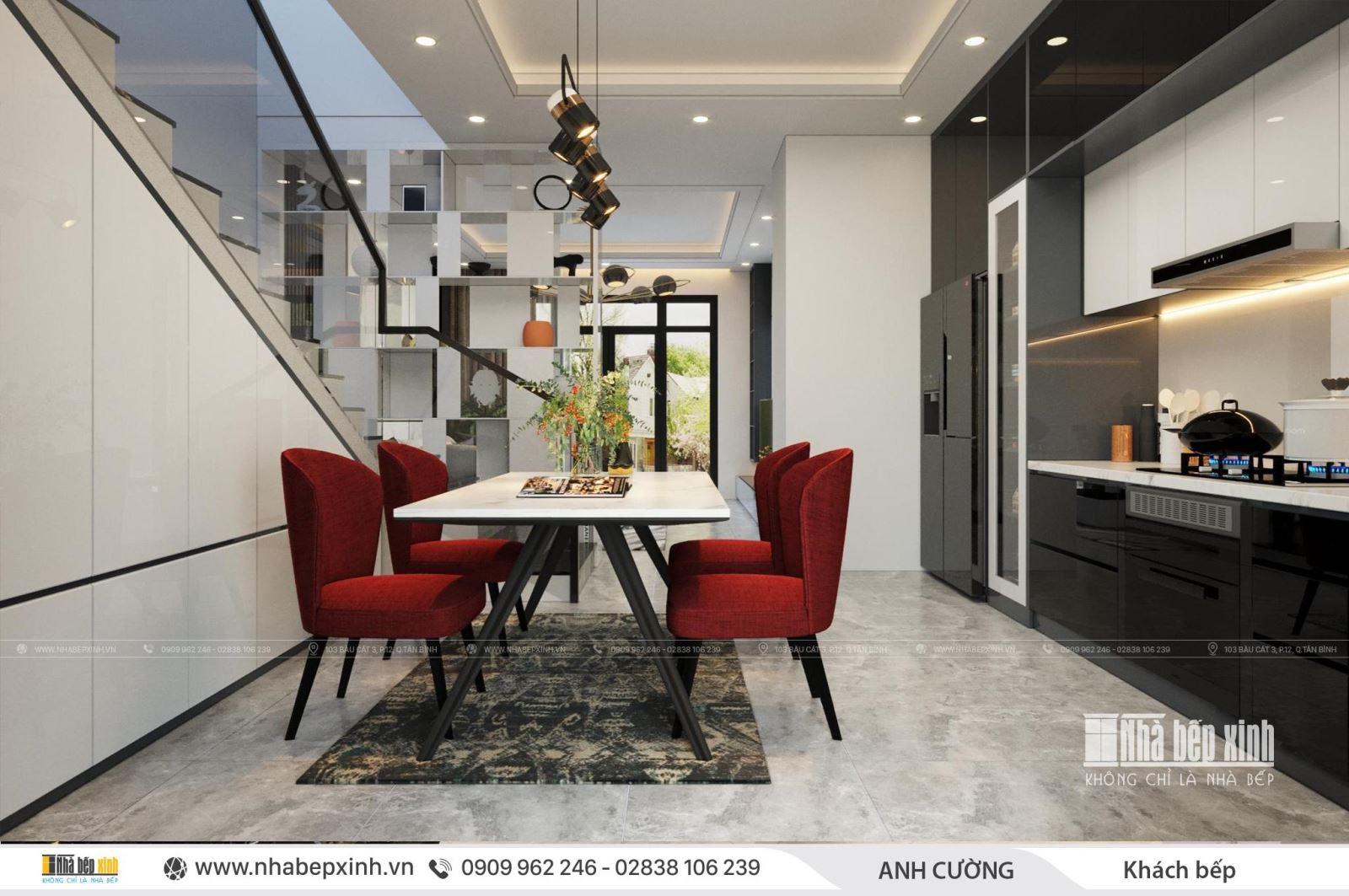 Thiết kế nội thất trọn gói đẹp - phong cách hiện đại