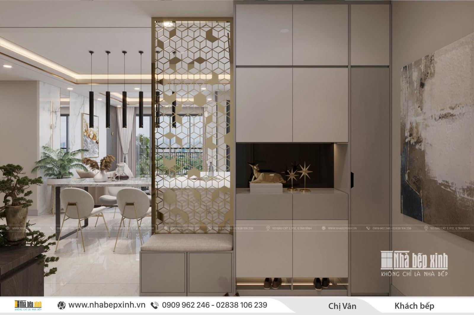 Cách thiết kế phòng khách đẹp và hiện đại tại chung cư Celadon City