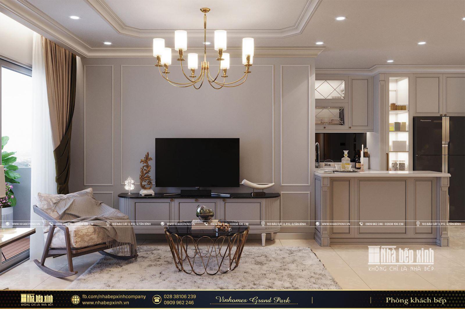 Tổng hợp các mẫu thiết kế nội thất chung cư Vinhomes Grand Park - Phân khu The Origami