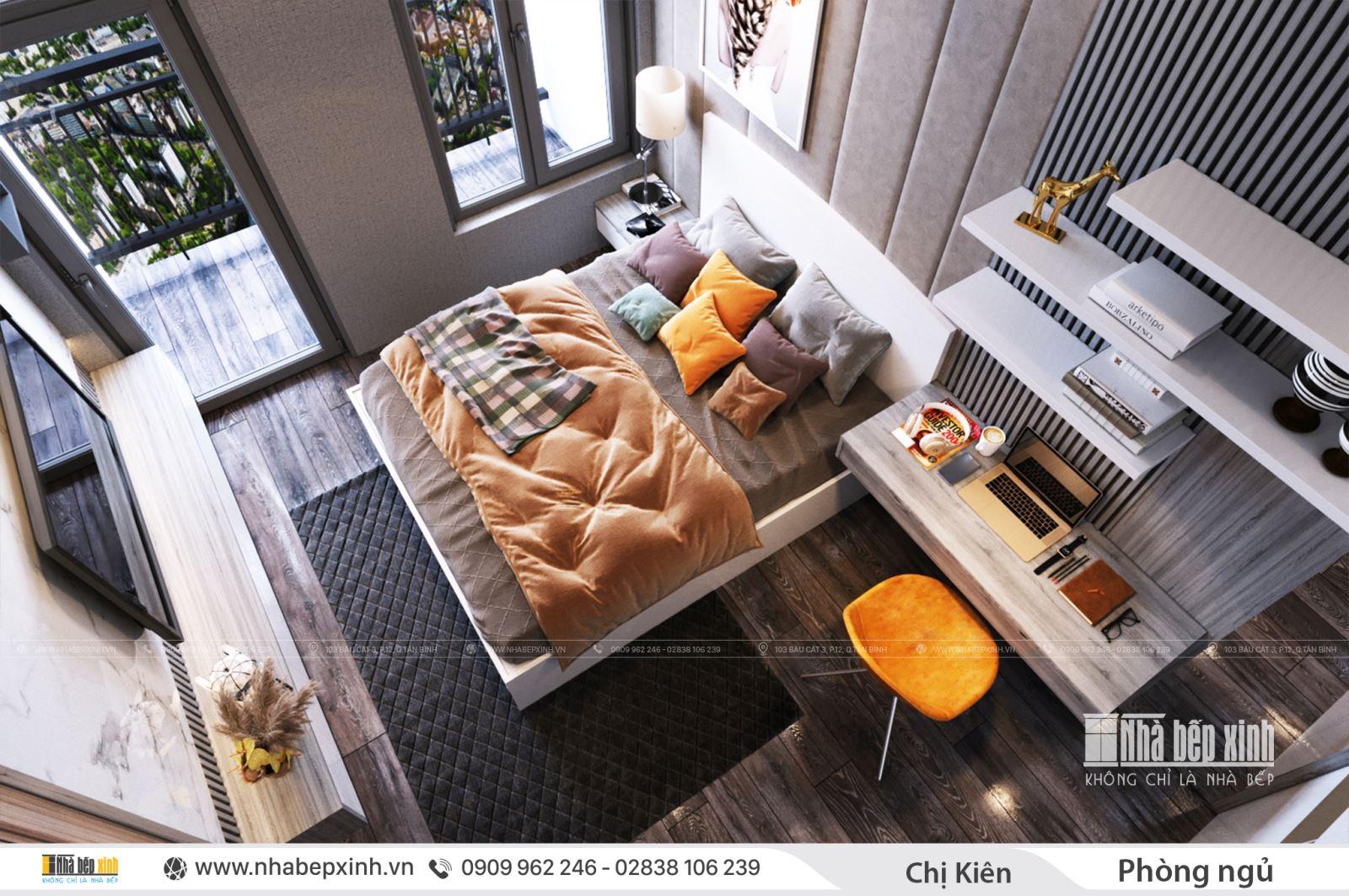 Nội thất phòng ngủ master đẹp - hiện đại - đơn giản