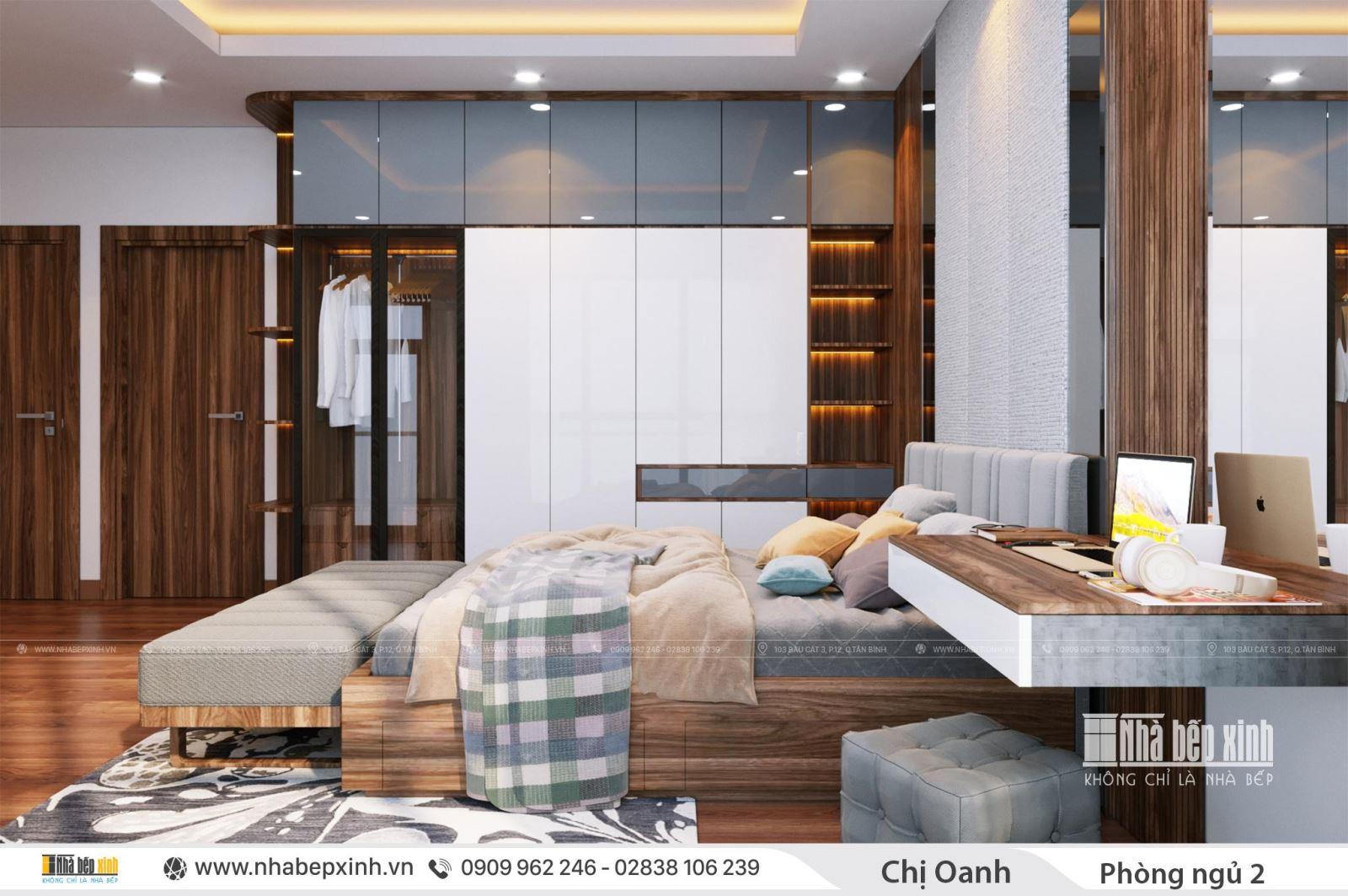 Thiết kế nội thất nguyên căn nhà phố hiện đại
