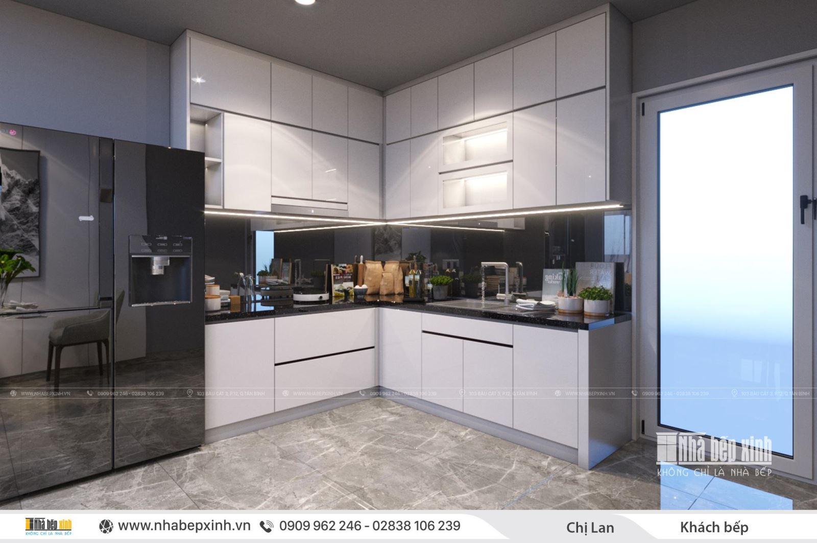 Thiết kế nội thất nguyên căn tiện nghi và hiện đại