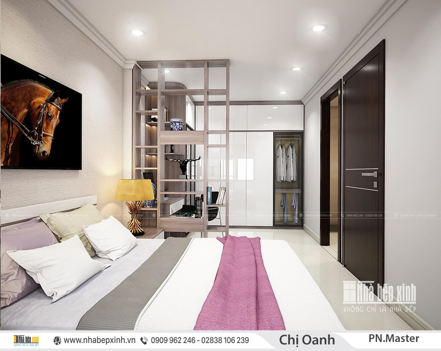 Thiết kế nội thất nguyên căn đẹp