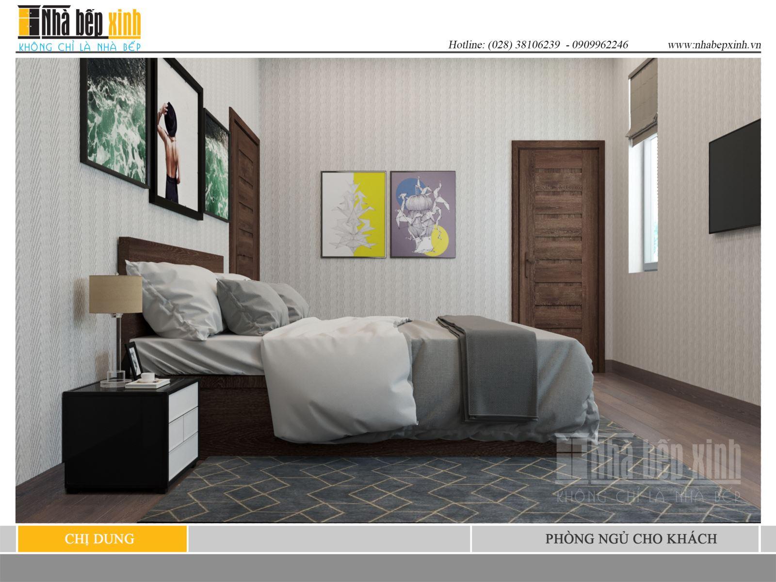 Phòng ngủ cho khách đẹp sang trọng