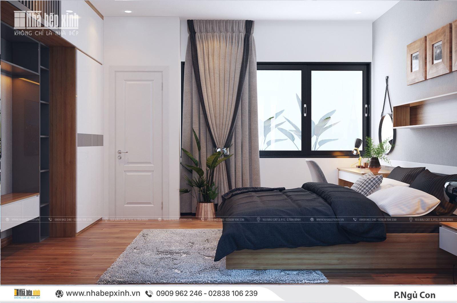 Ngỡ ngàng với phòng ngủ hiện đại