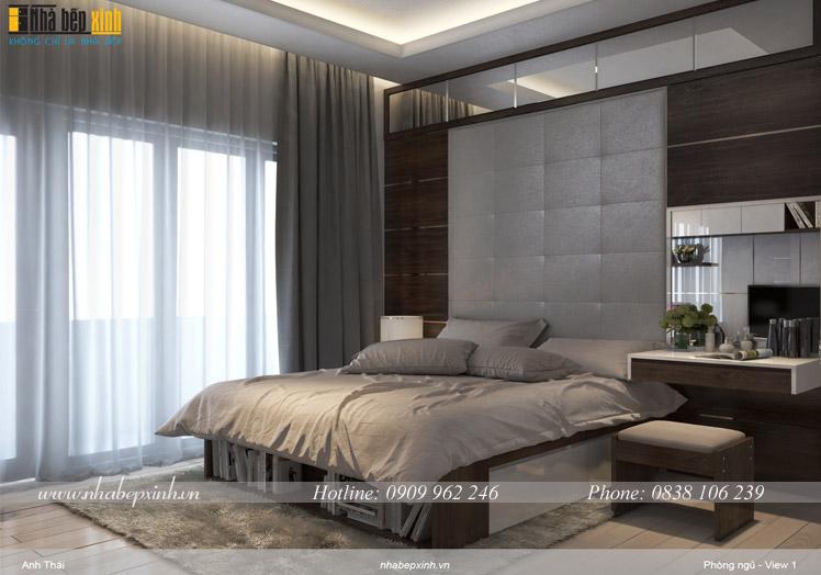 giường ngủ hiện đại cs13