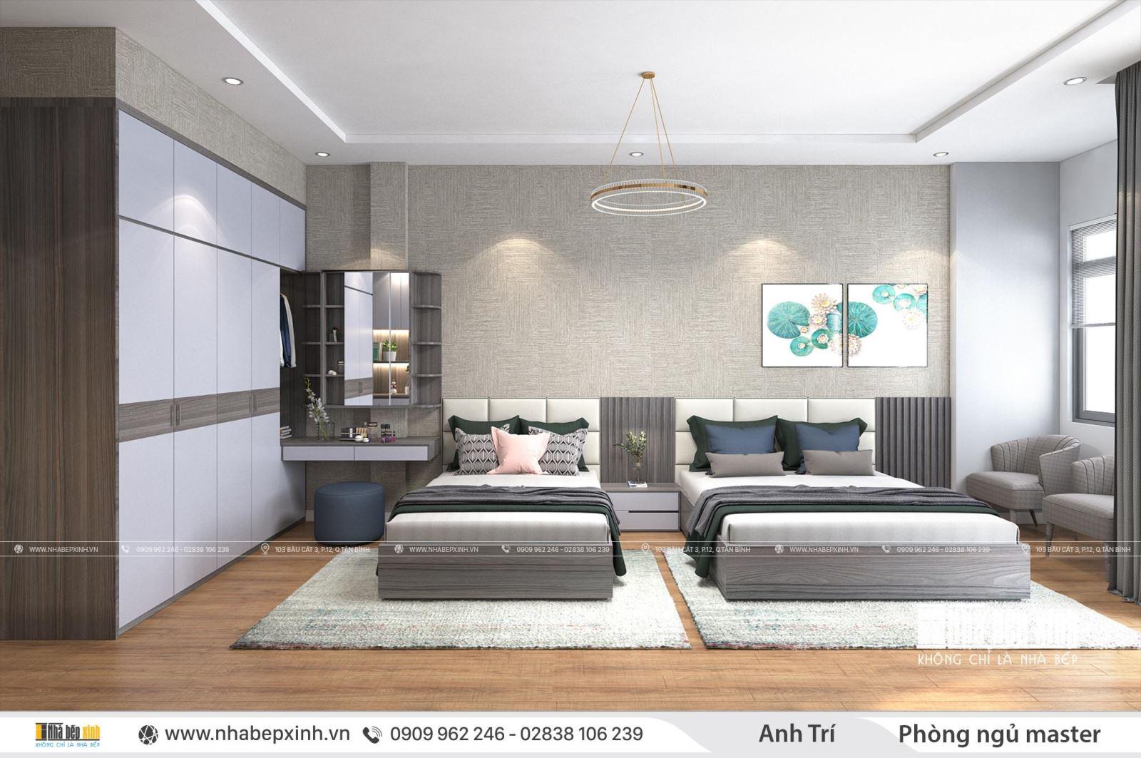 Thiết kế nội thất nguyên căn đẹp và hiện đại nhất