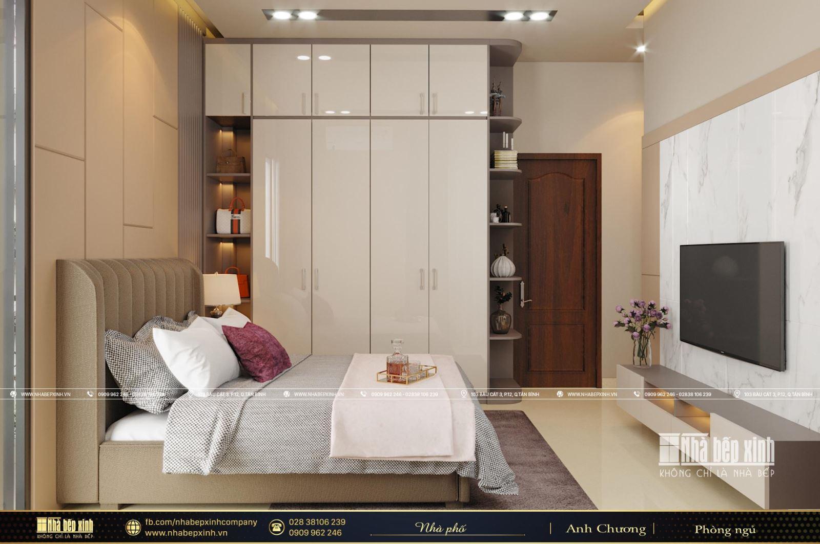 Thiết kế nội thất nguyên căn đẹp và hiện đại tại Vĩnh Long