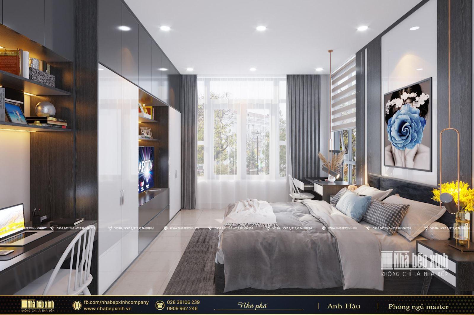 Phòng ngủ người lớn hiện đại