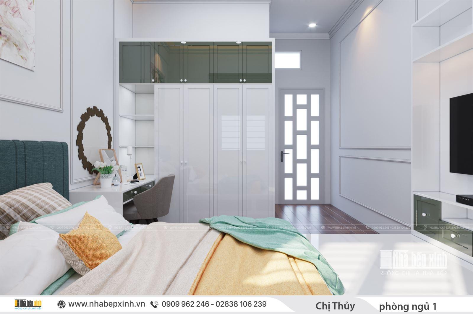 Phòng ngủ đẹp khi thiết kế nội thất hiện đại