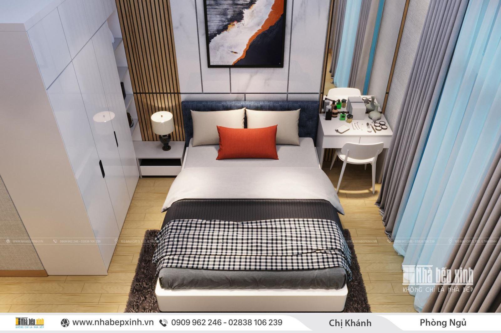 Tham khảo mẫu phòng ngủ đẹp hiện đại mới nhất