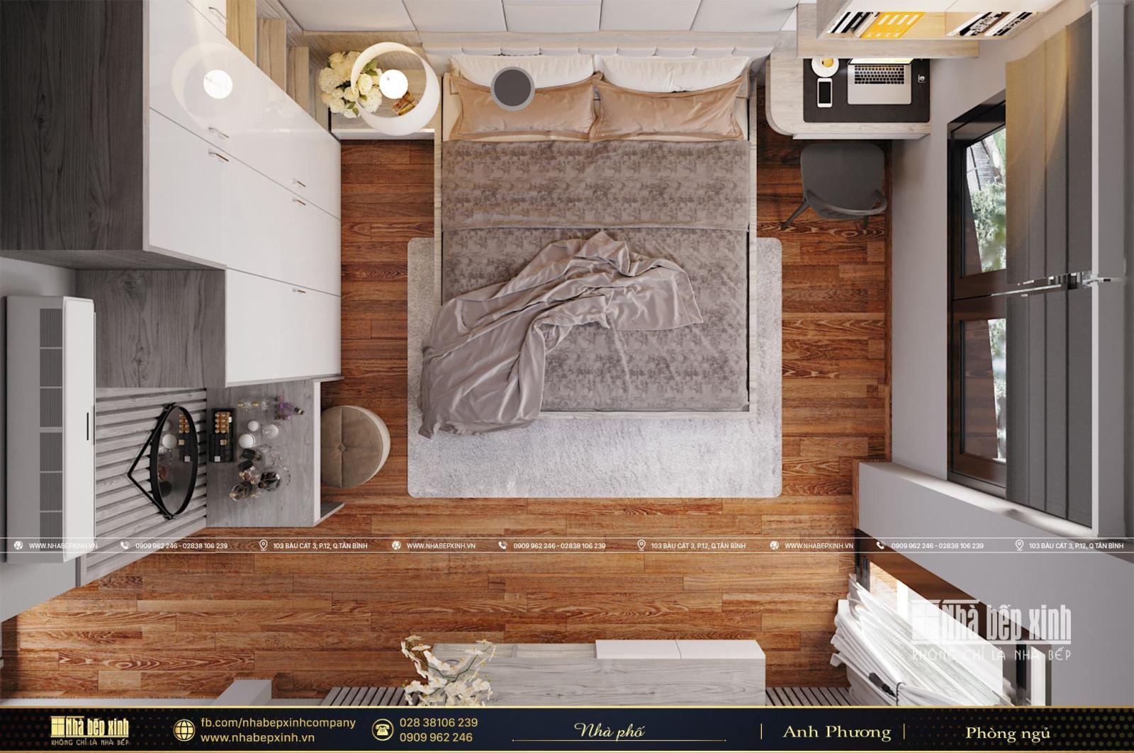 Thiết kế nội thất phòng ngủ đẹp, hiện đại