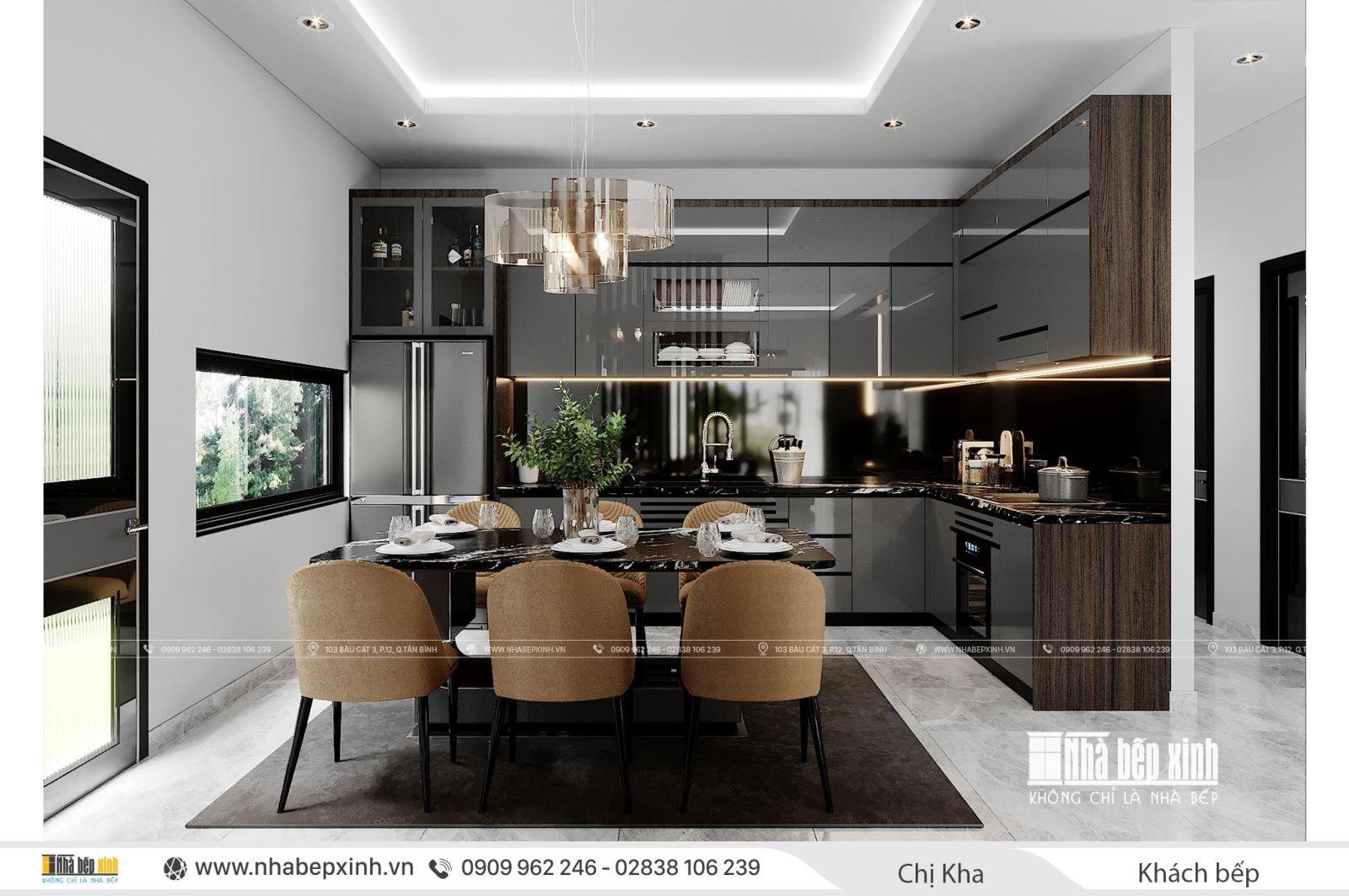 Thiết kế nội thất nguyên căn đẹp tại tỉnh Lâm Đồng
