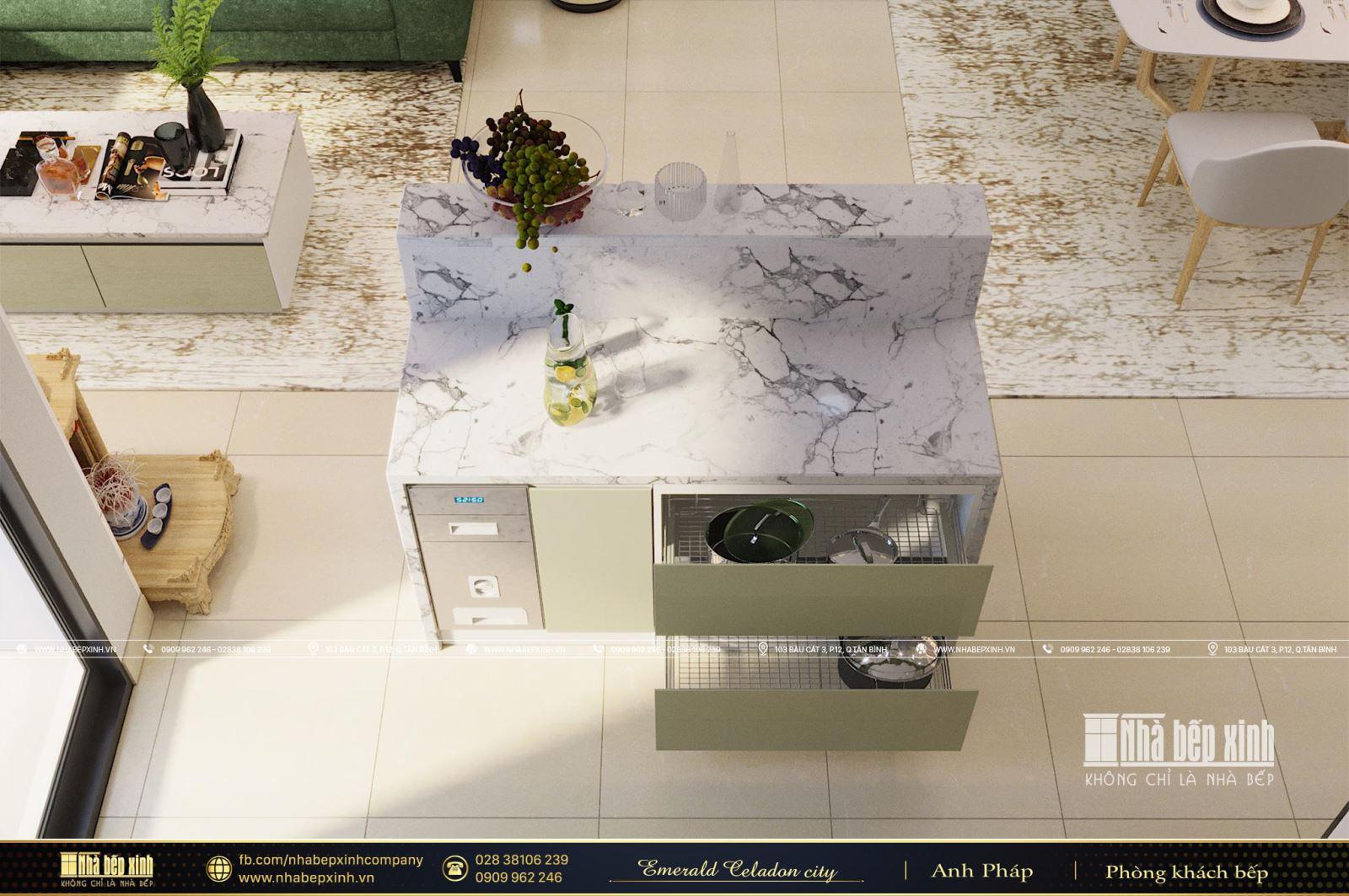 Tổng hợp các mẫu thiết kế nội thất Chung cư Emerald Celadon City