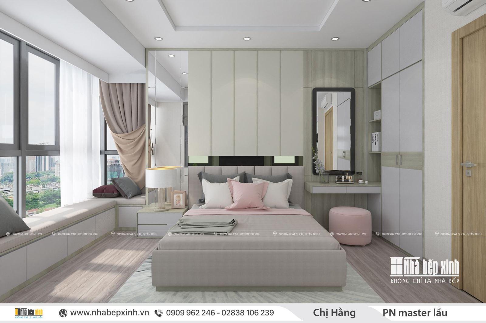 Thiết kế nội thất Duplex căn hộ Emerald Celadon City 117m2