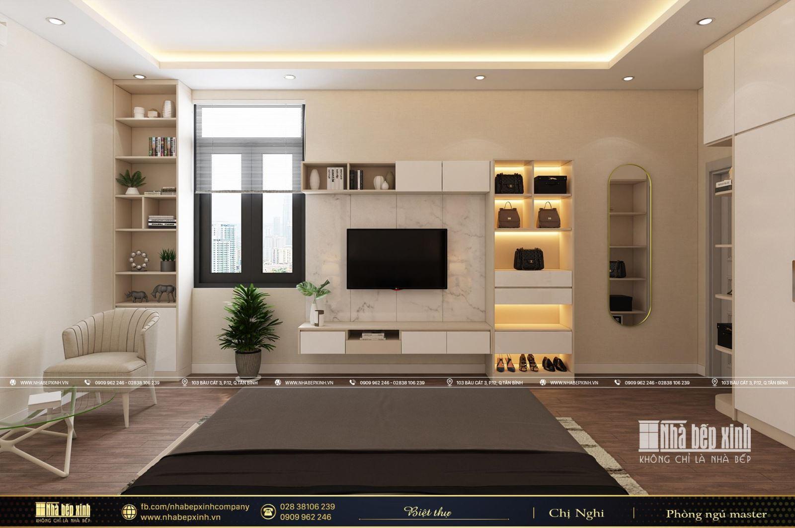 Đẹp tinh tế với mẫu thiết kế nội thất nguyên căn hiện đại tại Cà Mau
