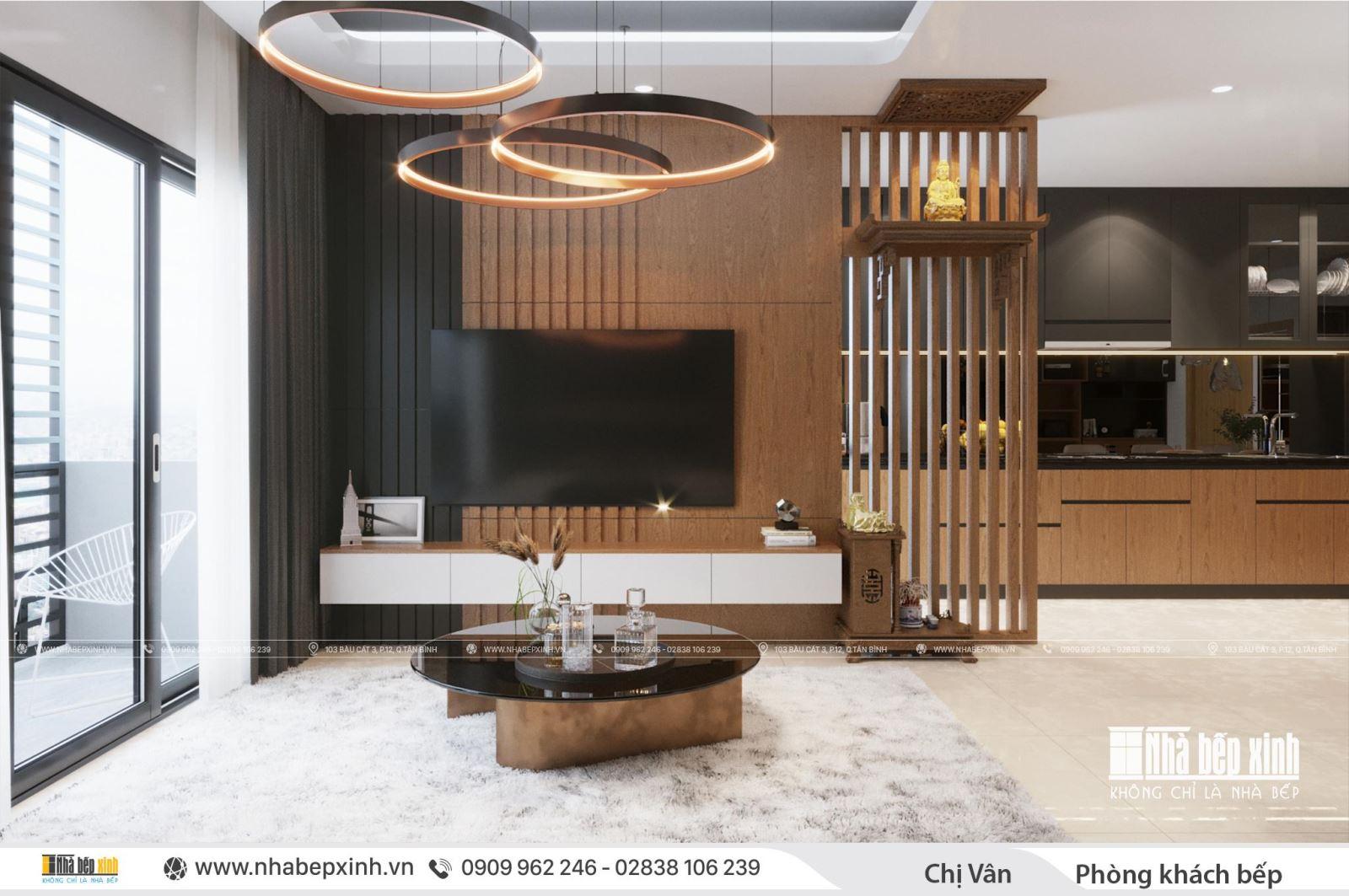 Mẫu thiết kế nội thất căn 104m2 Emerald Celadon City đẹp và hiện đại