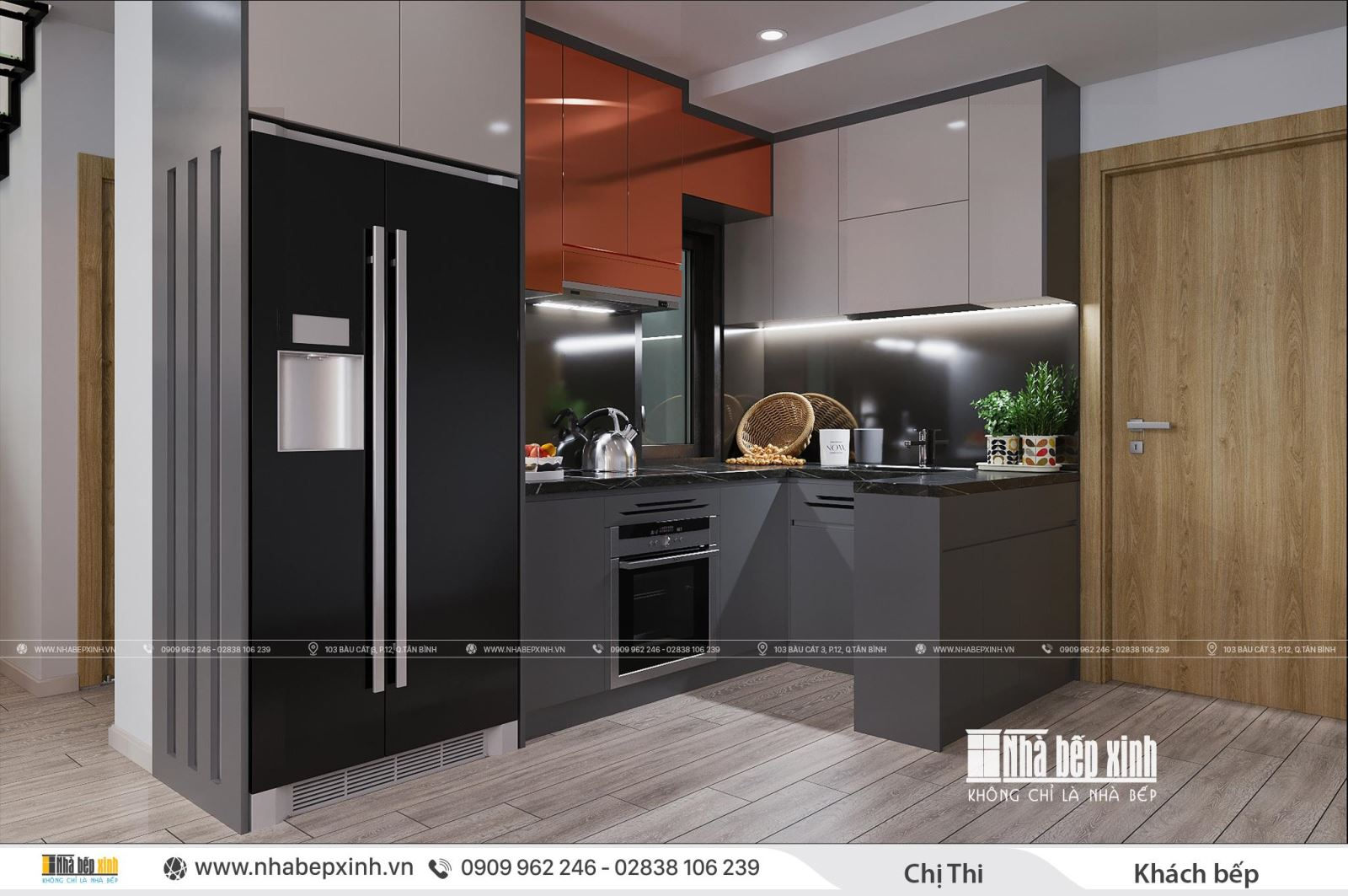 Thiết kế trọn gói nội thất Duplex căn 97m2 Emerald Celadon City