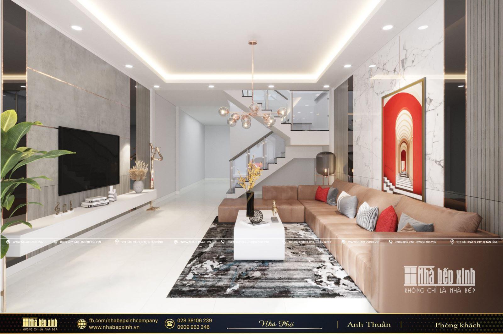 Thiết kế và thi công nội thất trọn gói đẹp tại Hậu Giang