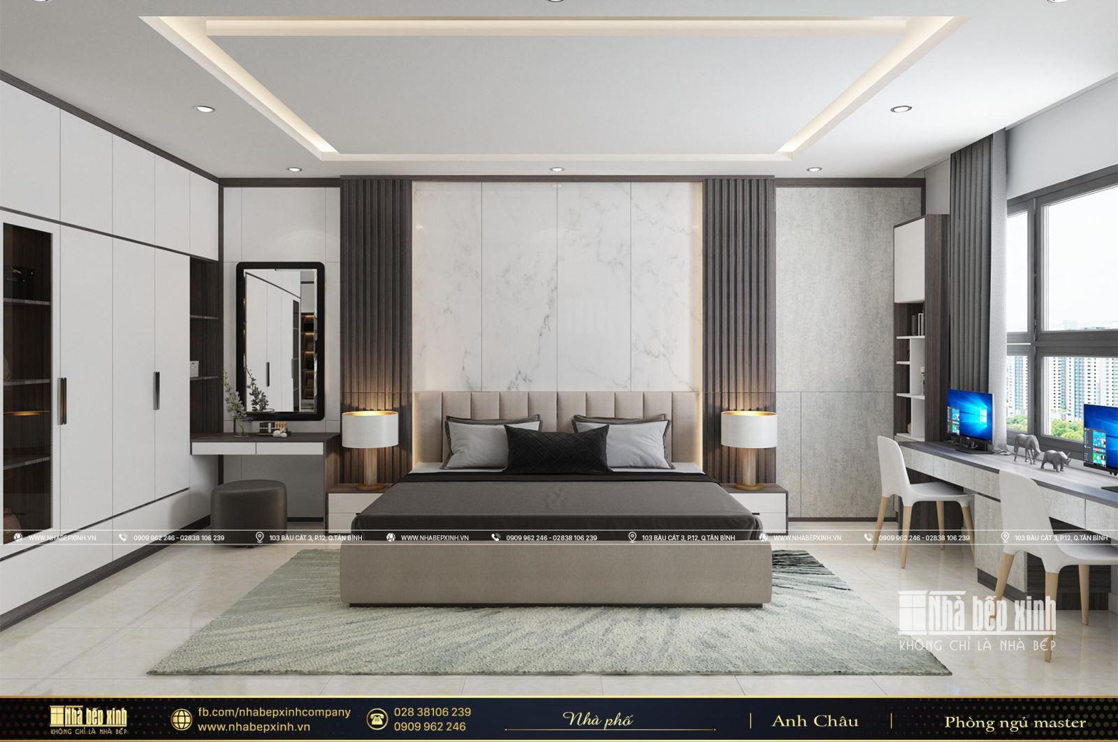 Vẻ đẹp sang trọng từ phong cách thiết kế nội thất hiện đại