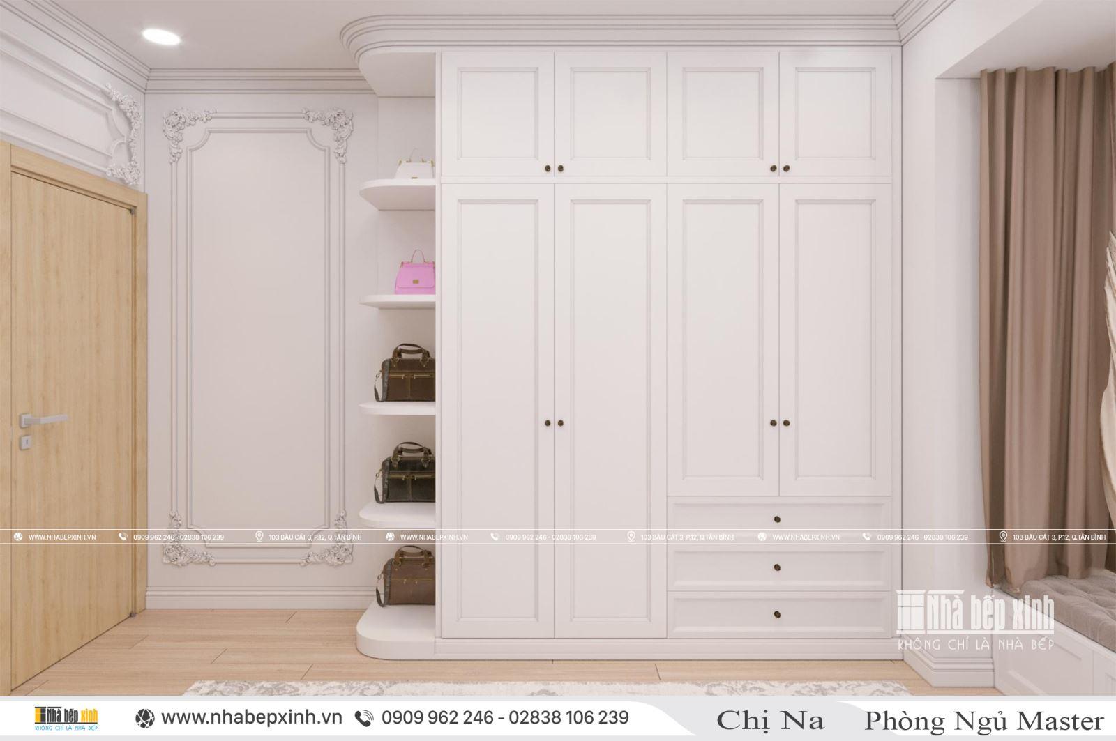 Thiết kế nội thất căn hộ Emerald Celadon City 104m2