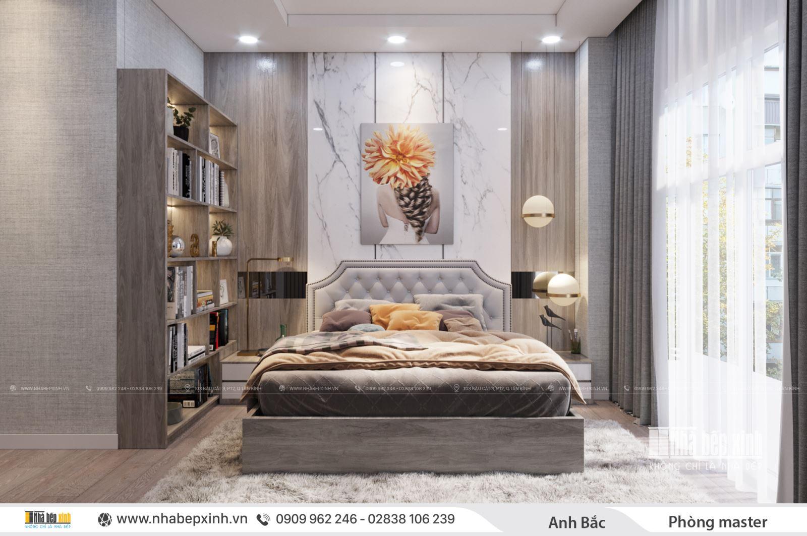 Thiết kế phòng ngủ người lớn hiện đại