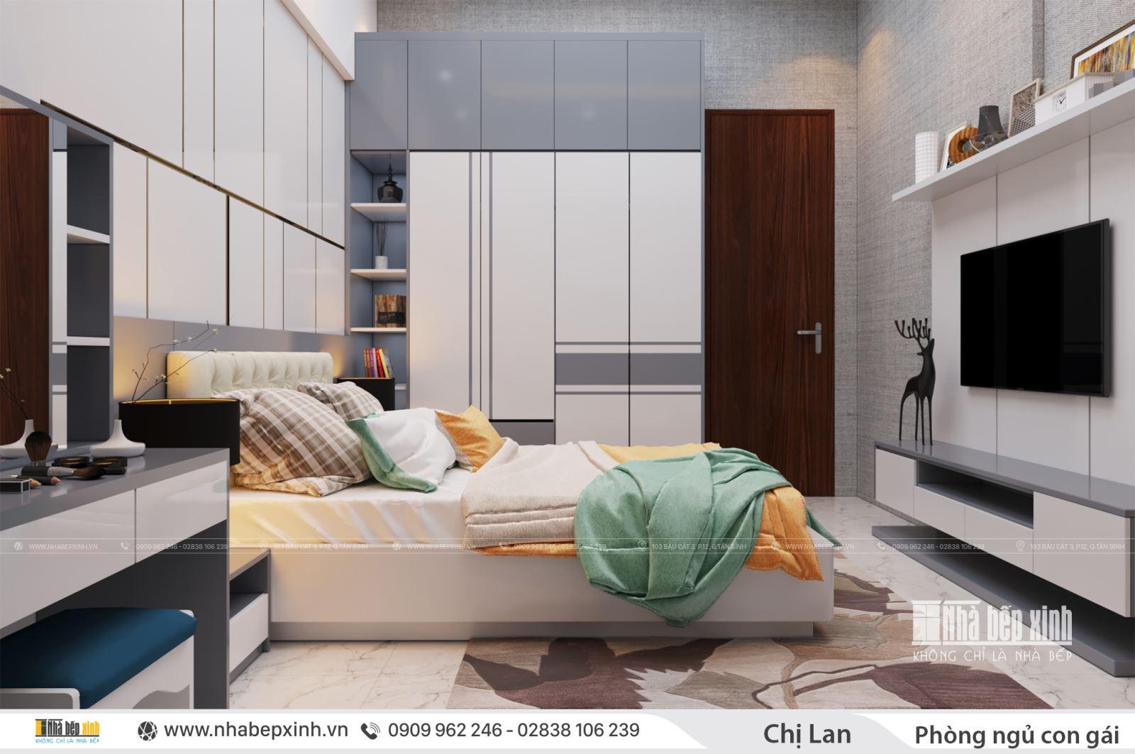 Phòng ngủ hiện đại dành cho không gian của bạn