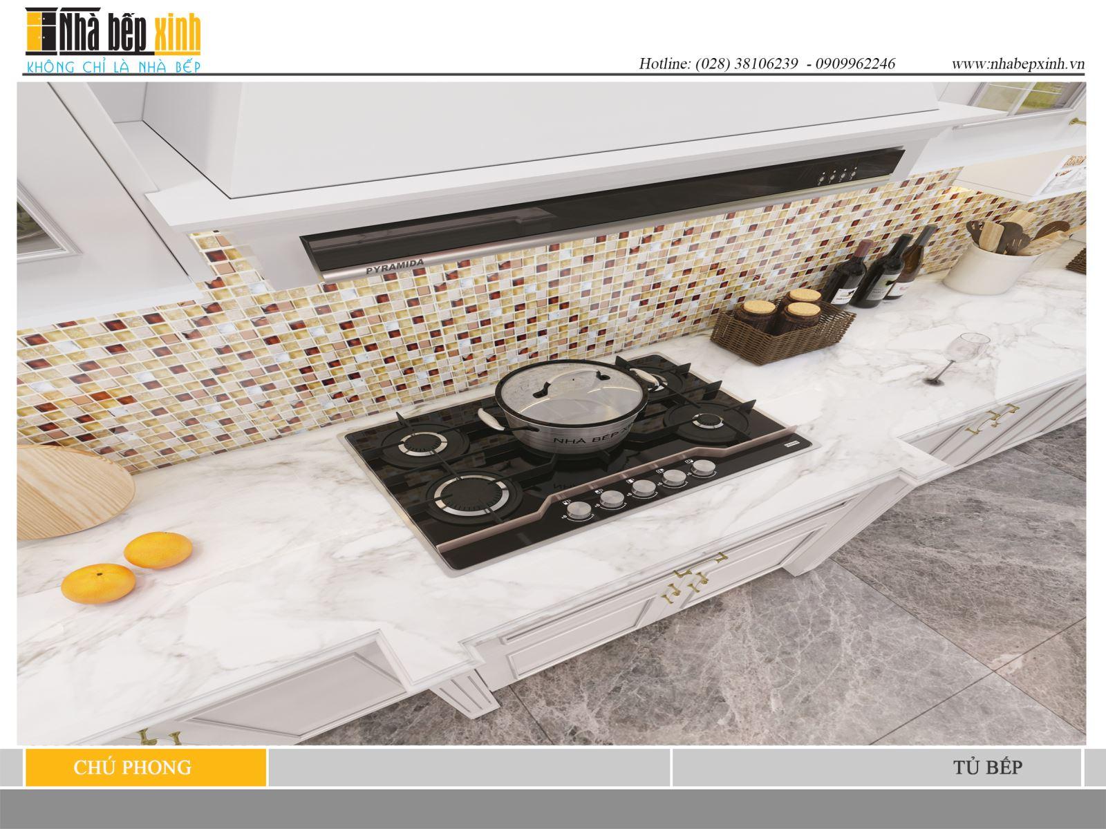 Mẫu tủ bếp không thể thiếu trong nội thất ngôi nhà hiện đại