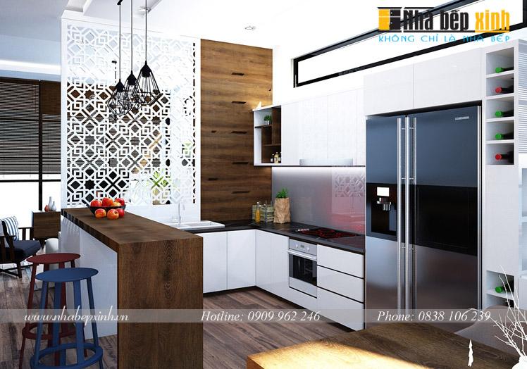tủ bếp đẹp hiện đại p9