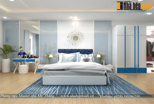 Hình ảnh Phòng Ngủ đẹp Hiện đại Tiện Nghi Nhà Anh Thắng